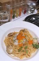 Masago Caviar Spaghetti