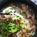 Chef Special Beef Slice Noodle Soup ($5)