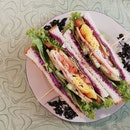 Purple Sweet Potato Sandwich (Rm11.50)