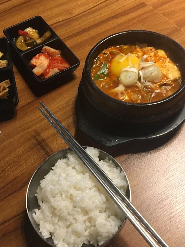 Great Korean Food!