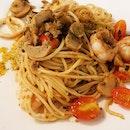 #thaiseafoodspaghetti