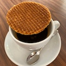 Long Black With Stroopwafel ($6)