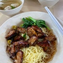 Char Siew Wanton Noodles ($3.50)