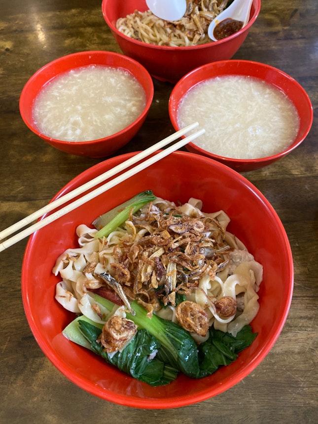 RH28 Dry Ban Mian ($4)