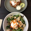 Crab Salad & Salmon Rosti