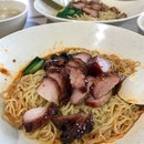 (Fu Shi) Traditional Roasted Wanton Mee (Marsiling Mall Hawker Centre)