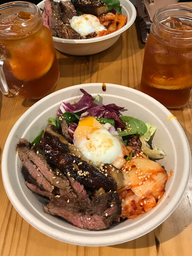 Beef And Foie Gras Rice Bowl ($18.90)