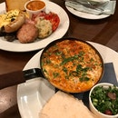 Tunisian - Shakshuka ($24) & English - The Full Works ($28)