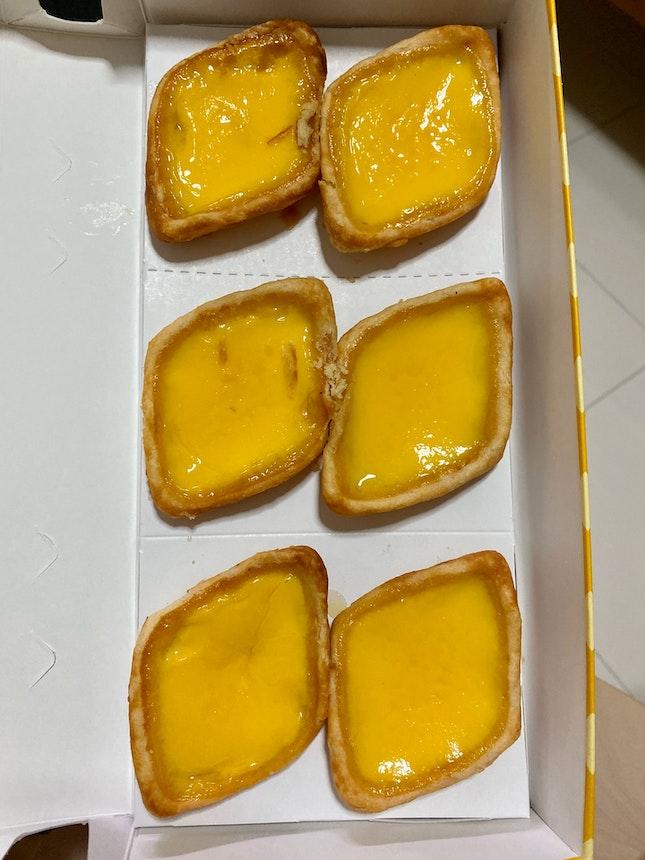 Egg Tarts ($2)