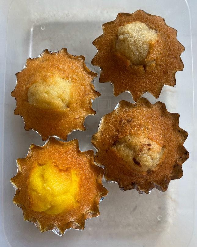 Mini Muffins: Walnut, Blueberry, Banana, Lemon