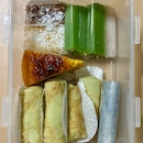 Assorted Kuehs ($0.70 - $1.40 per piece)