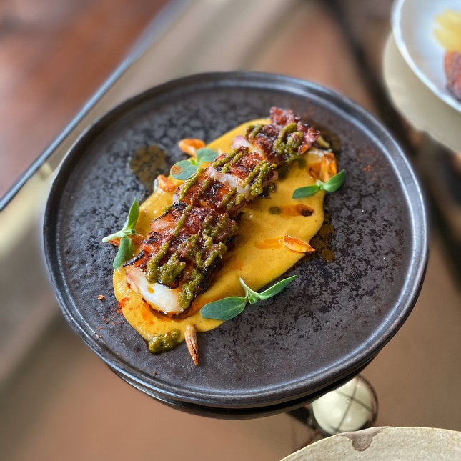 Grilled Spanish Octopus ($28)