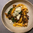 Pappardelle Pasta with Beef Cheek Ragout ($28)
