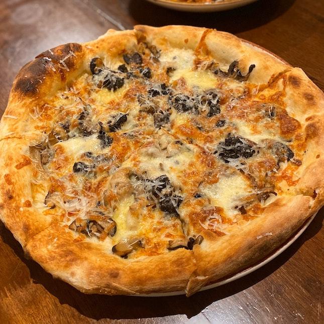 Mixed Mushroom Pizza ($26)
