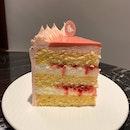 Yuzu Raspberry Cake ($10.90)