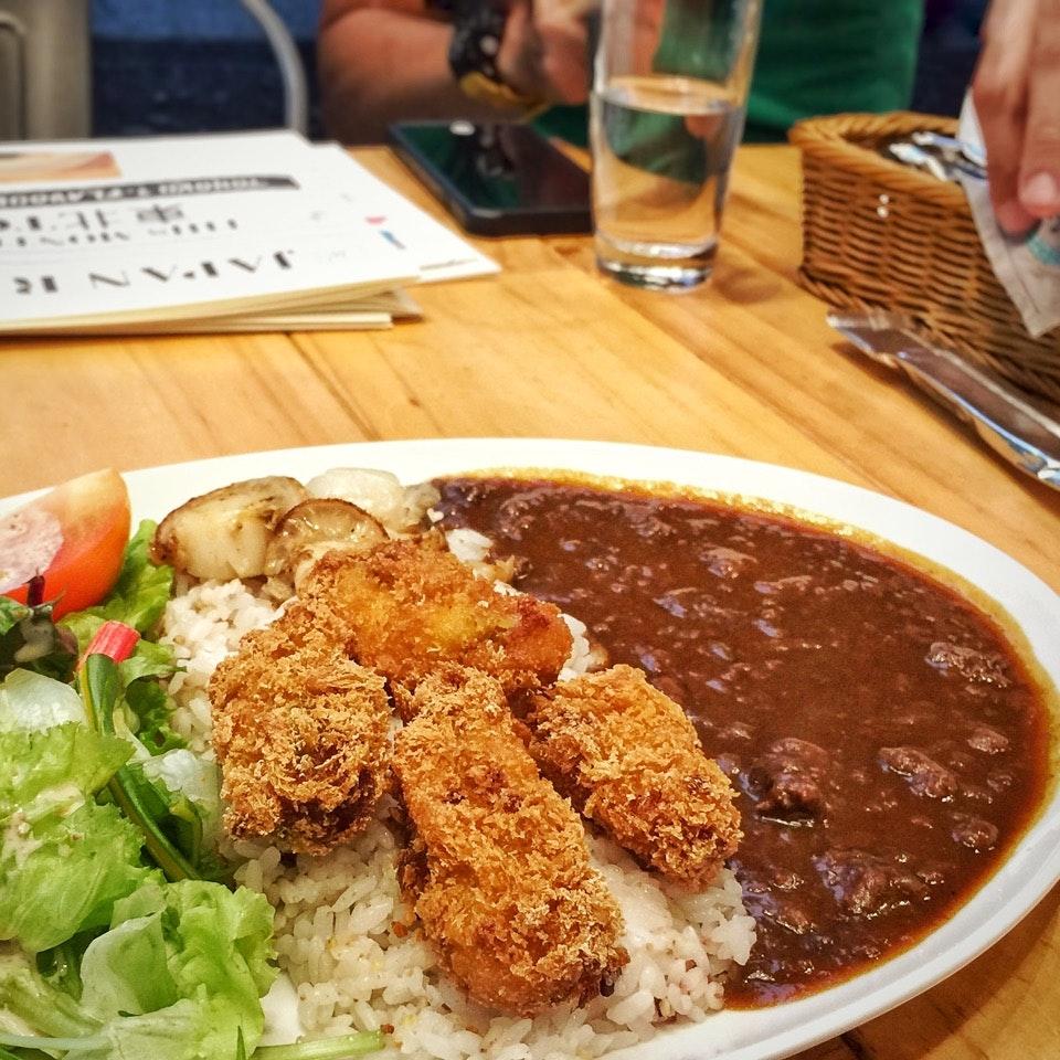 Watashino Curry Rice $18...choose your own combination
