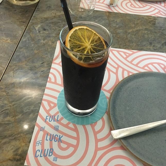 Orange Cinnamon Cold Brew Coffee