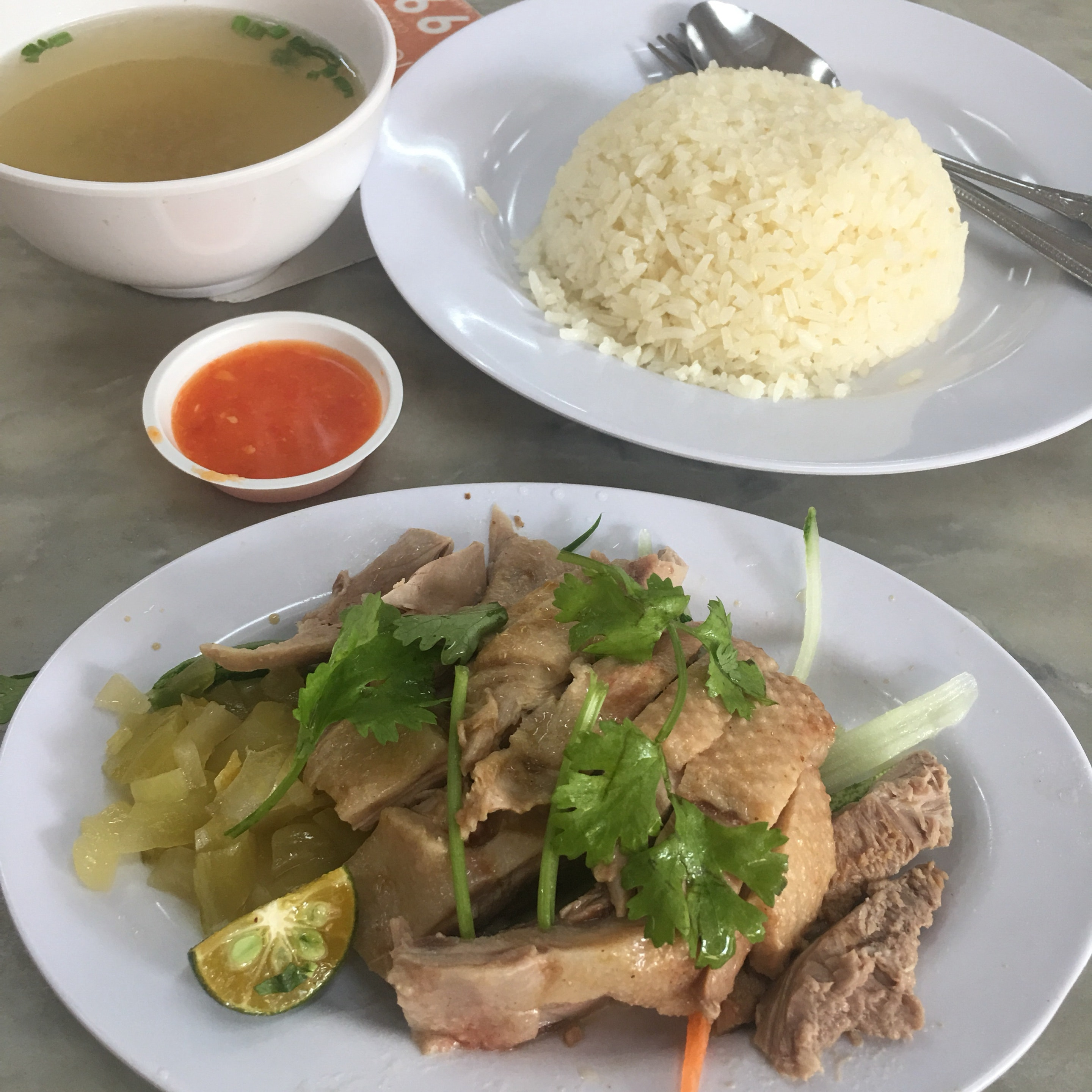 Salted Duck Rice