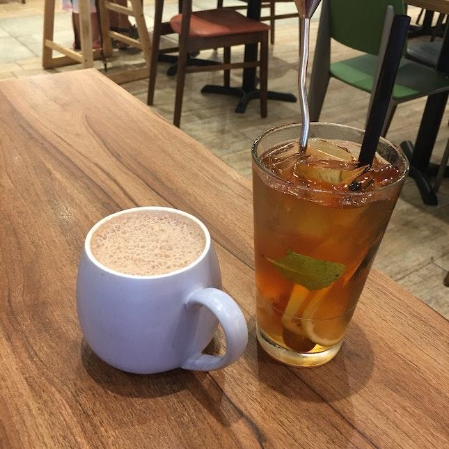 Lychee Mint Tea & Swiss Pure Chocolate