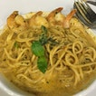 Laksa Prawn Spaghetti