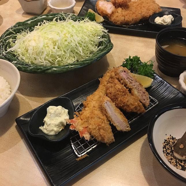 Minced Pork Katsu Gozen