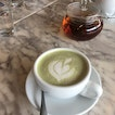 Matcha Latte & Pot Of Tea
