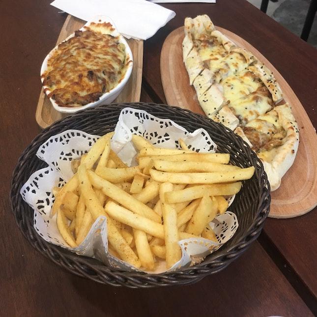 Baked Pasta & Turkish Pide