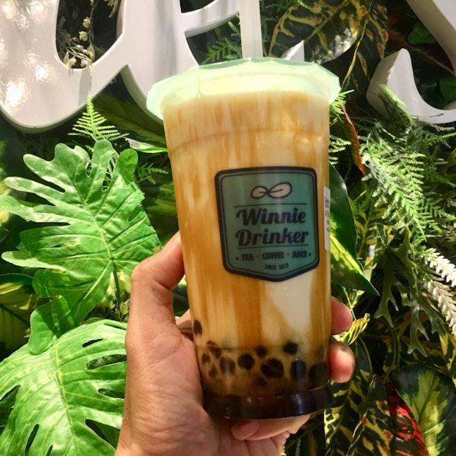 Black Sugar Pearl Fresh Milk