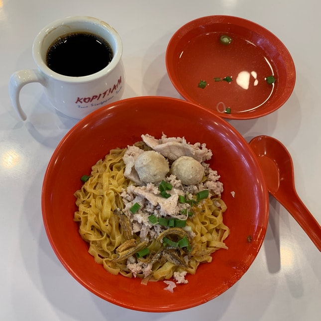 Minced Meat Noodles