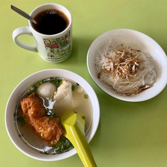 Yong Tau Fu With Ikan Bilis