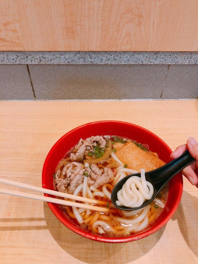 Beef & Inari Udon