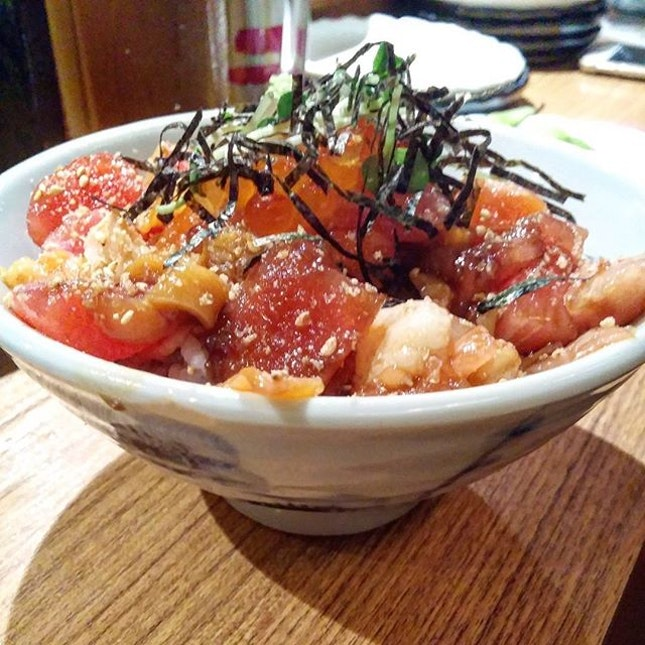 $15 Chirashi Don with Generous Serving