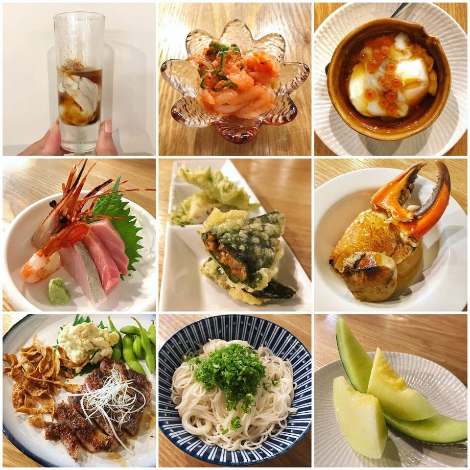 An Omakase Dinner Featuring Premium Ingredients