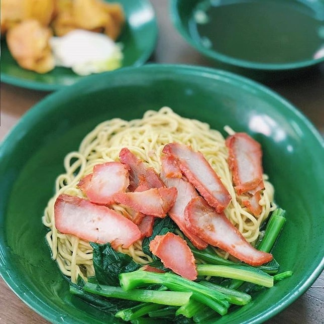 """The noodles here is thicker but more """"q"""" compared to the other."""