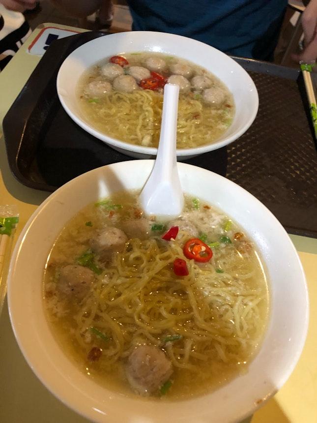 Delicious Soupy Bak Chor Mee