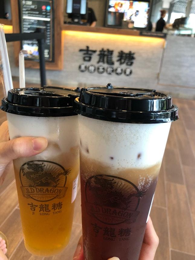 Fantastic Milk Foam Tea