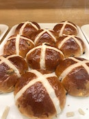 Yuzu Hot Cross Buns