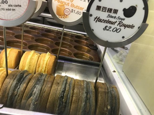 Black Bean Hazelnut Pancake Set