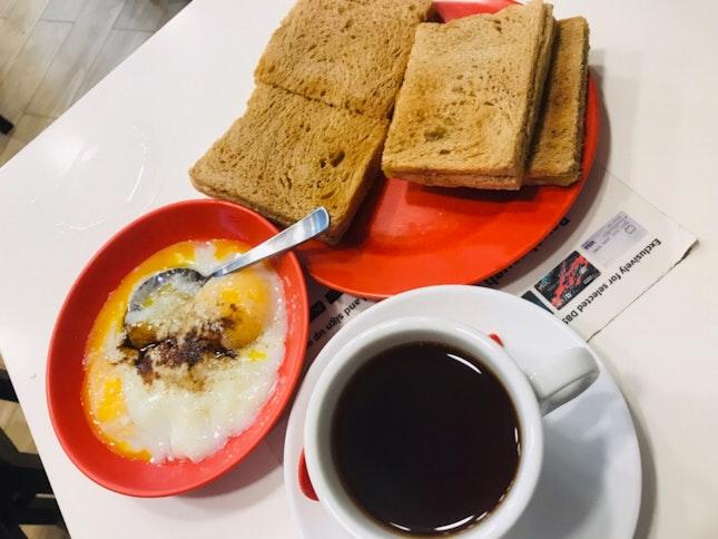 Kaya Peanut Butter Toast Set