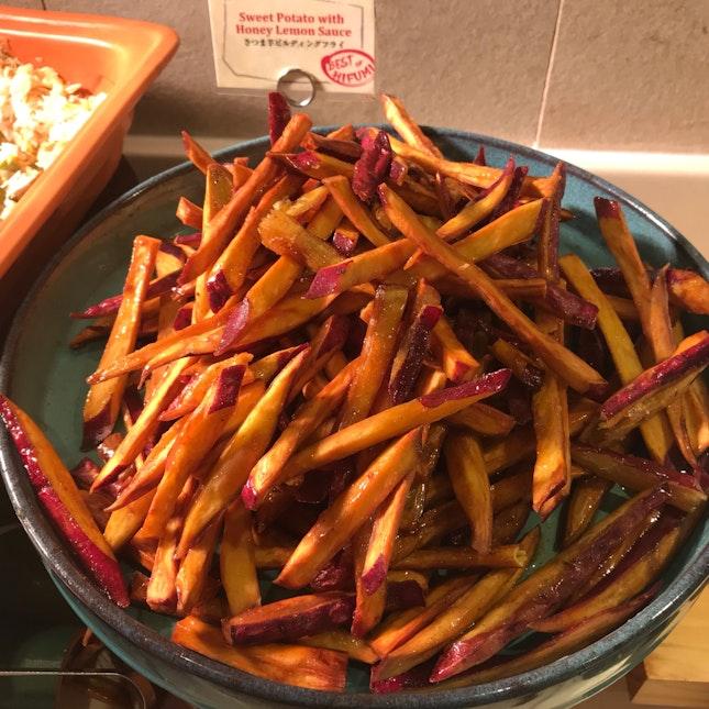 Sweet Potato Sticks