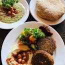Falafel And Hummus Overload