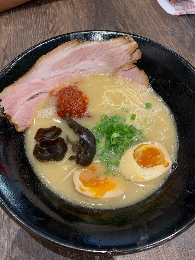 Spicy Tonkotsu + Tamago