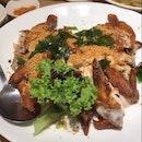 Deep-fried Chicken with Garlic