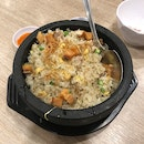 Shrimps Fried Rice with Salted Fish 虾仁咸鱼肉碎炒饭