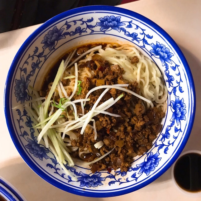 Minced Meat La Mian 炸酱面