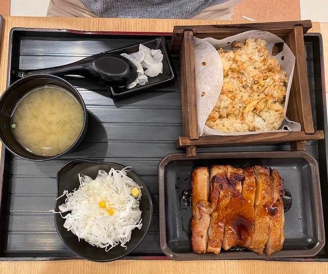 Teriyaki Chicken Set