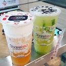 Sea Salt Macchiato (Wintermelon) & Cucumber Lime Mojito @ Sharetea PremiumThese drinks r juz perfect for a hot Sunday 🤣#sharetea #mojito #mojitos #macchiato #sugar #wintermelon #bubbletea #hot #sweet #sweets #instalike #instagood #igsg #sgfoodie #sgig #foodblog #foodblogger #drink #burpplesg #burpple #vscofood #yummy #yumm #sunday #colddrink #instapic #instadessert #instaday #weekend #summer