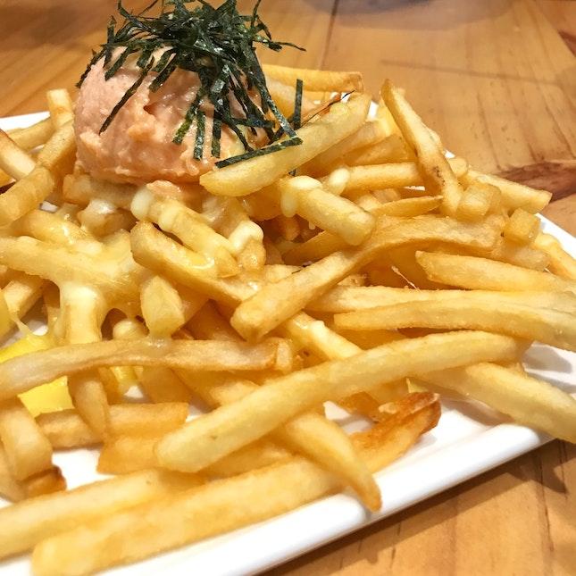 Mentai mayo fries