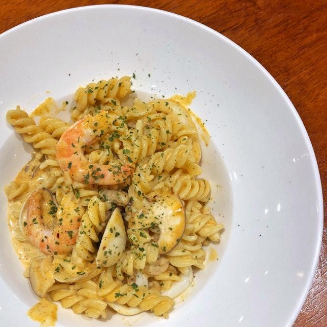 Tomyam Seafood Pasta