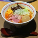 Tried the smoked duck Hokkaido Jigoku ramen and portions were generous for their prices!